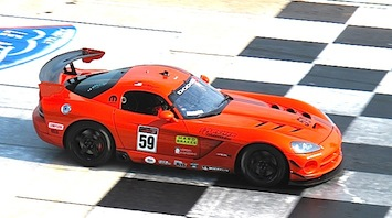 Winning Tech for Dodge Viper Cup